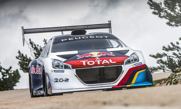 Peugeot 208 T16 Pikes Peak 2013 Video Sebastien Loeb