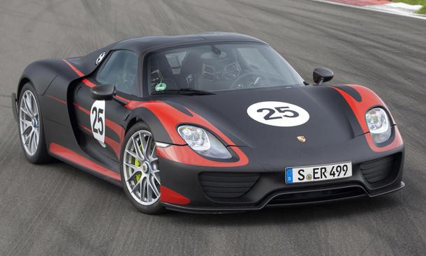 Porsche 918 Spyder 2013 Fahrbericht Bilder technische Daten