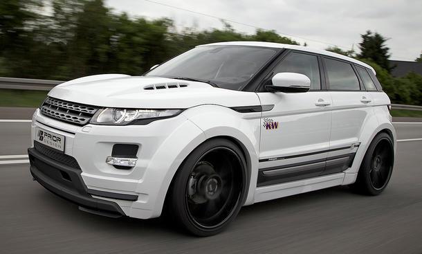 Prior Design Range Rover Evoque Tuning Breitbau SUV Geländewagen Body Kit