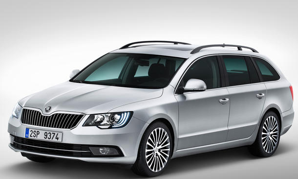 Skoda Superb 2013 Preis Facelift Kombi Limousine