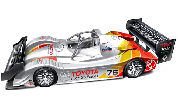 Toyota Pikes Peak Bergrennen TMG EV P002 Rod Millen Elektro-Rennwagen