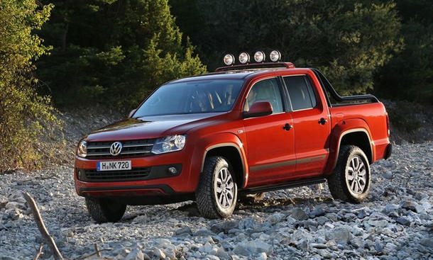 vw amarok canyon 2013 preis f r das sondermodell bild 2. Black Bedroom Furniture Sets. Home Design Ideas