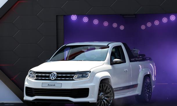 VW Amarok Woerthersee 2013 Power Pickup V6 TDI
