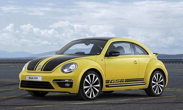 VW Beetle GSR 2013 Preis Sondermodell Lackierung