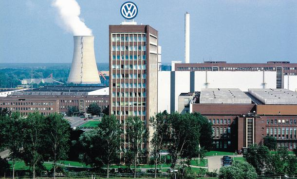 VW-Mitarbeiter Volkswagen Wolfsburg Tarifkonflikt IG Metall Proteste Haustarif Verhandlungen