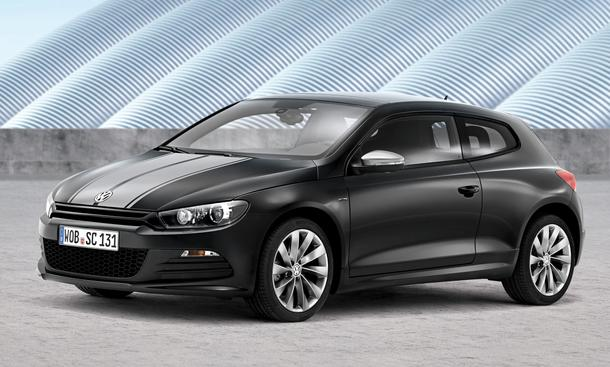 VW Scirocco Sondermodell Million Sport-Coupé Kompaktklasse Eine Million
