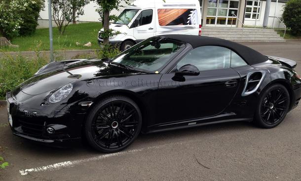 2014 Porsche 911 Turbo Cabrio 991 Erlkoenig