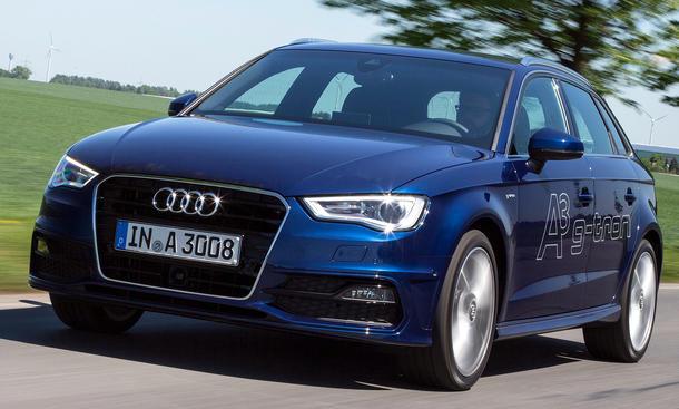 Audi A3 g tron Erdgas CNG 2013 Fahrbericht
