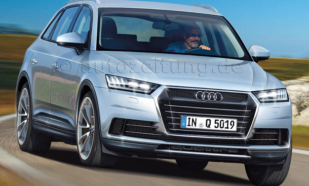 2016 Audi Q5 Alfa gegen audi: neuer q5
