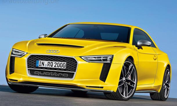 IAA 2013 Neuheiten VW-Konzern Audi Quattro Montage NEU