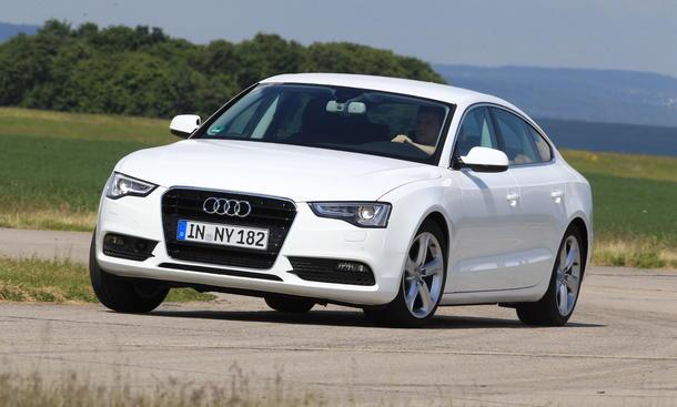 Bilder Audi A5 Sportback 2.0 TDI 2013 Vergleichstest