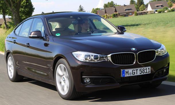 Bilder BMW 320d GT 2013 Vergleichstest