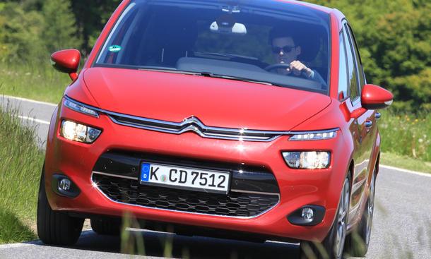 Bilder Citroën C4 Picasso e-HDi 115 2013 Kompakt-Van
