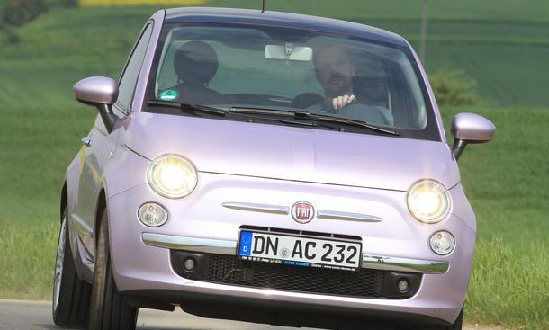 Bilder Fiat 500 0.9 TwinAir 2013 Kleinstwagen City Cars Vergleich