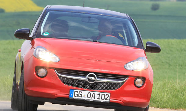 Bilder Opel Adam 1.4 ecoFLEX 2013 Kleinstwagen City Cars Vergleich