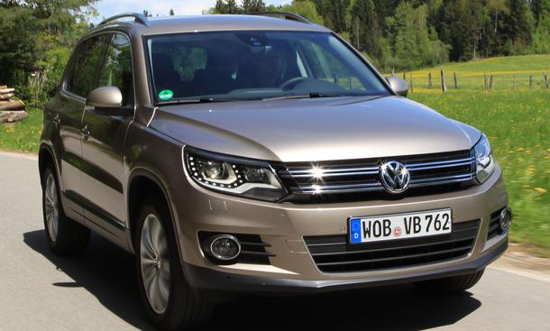 Bilder VW Tiguan 2.0 TDI 4MOTION BMT 2013 Kompakt-SUV Fazit