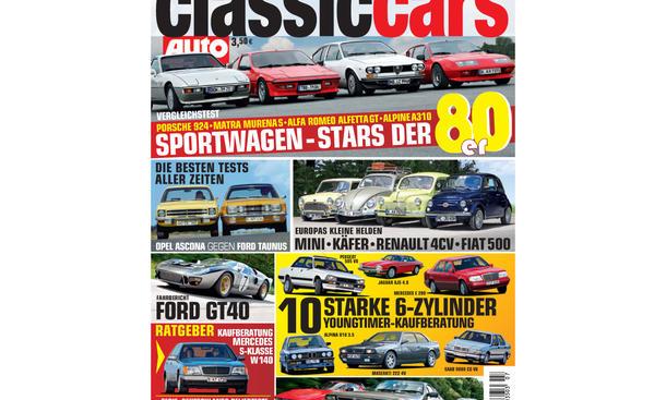 AUTO ZEITUNG Classic Cars 07/2013 Vorschau Cover