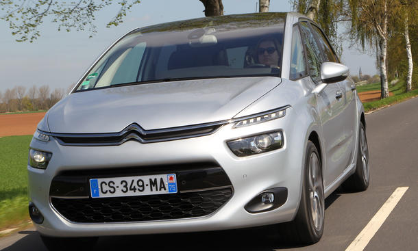 Bilder Citroën C4 Picasso eHDi 115 2013 Kompaktvan Design