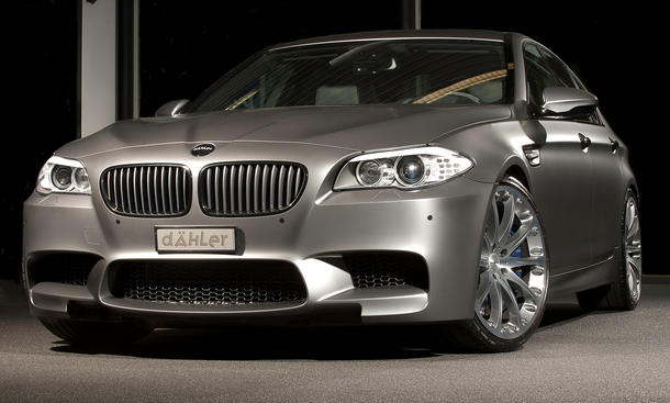 Dähler BMW M5 F10 M6 F12 F13 Tuning Leistungssteigerung V8-Biturbo