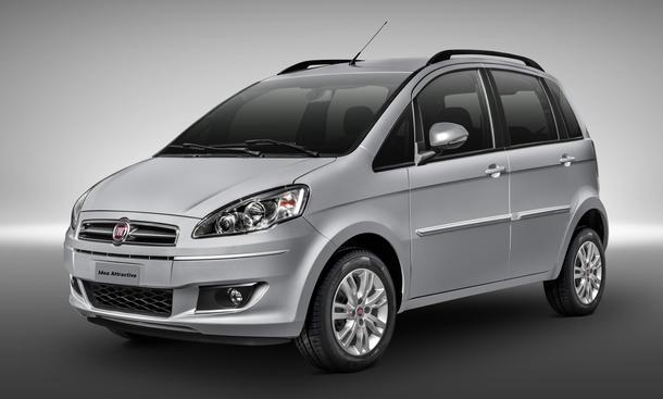 Fiat Idea Facelift 2014 Bilder Minivan
