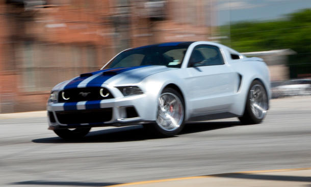 Ford Mustang 2014 Need for Speed Film Bilder Making of