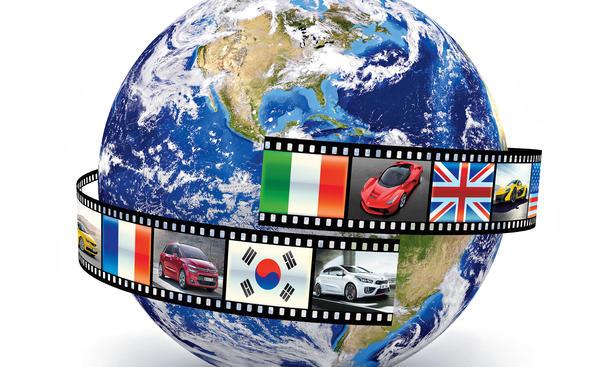 Auto-Neuheiten der Zukunft Import-Modelle Marken Asien USA Japan Korea