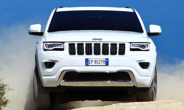 Fahrbericht Jeep Grand Cherokee 2013 3.0 V6 Bilder und technische Daten