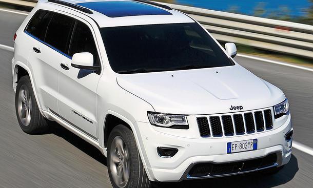 Jeep Grand Cherokee 2013 Facelift Leser-Test-Aktion Geländewagen SUV V6 Diesel