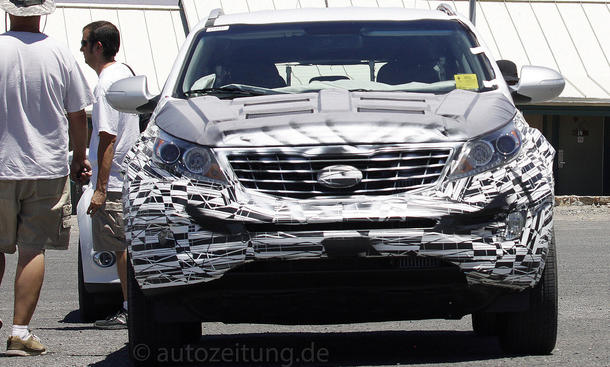 Kia Sportage Facelift 2014 SUV Neuheiten Bilder Testfahrten USA