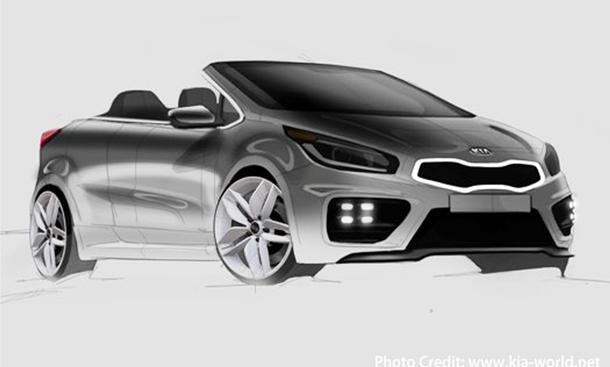 Kia pro_ceed GT Cabrio Studie 2013 Concept Car Sportwagen