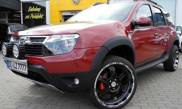 LZParts Dacia Duster Tuning Alltag Komfort Admirable Vernunft
