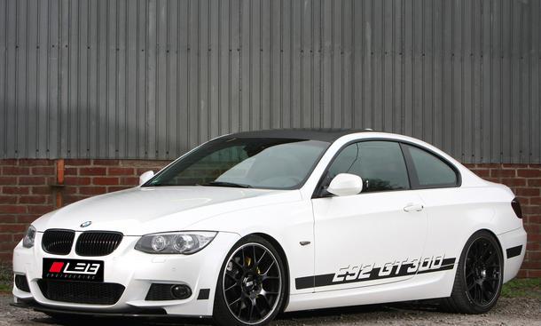 Leib GT300 BMW 325i Coupé E92 Tuning Leistungssteigerung Sechszylinder-Sauger 2013