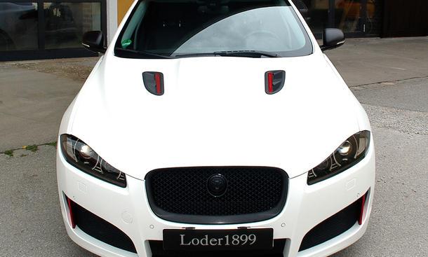 Loder1899 Jaguar XF 2013 Tuning Coupe Bilder Frontschürze