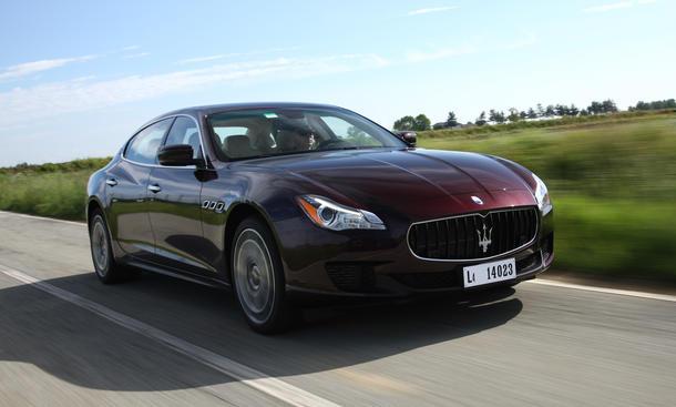 Maserati Quattroporte S Q4 2013 Bilder