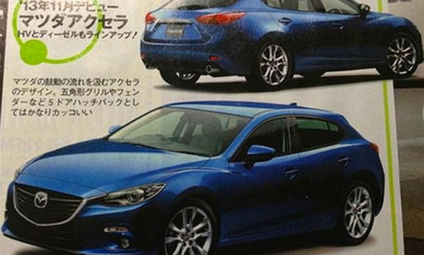 Mazda3 2013 Premiere Kompakt-Klasse IAA 2013 Bilder Fotos Golf-Gegner