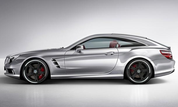 Mercedes SL Shooting Brake Coupetorino studiotorino Design Studie