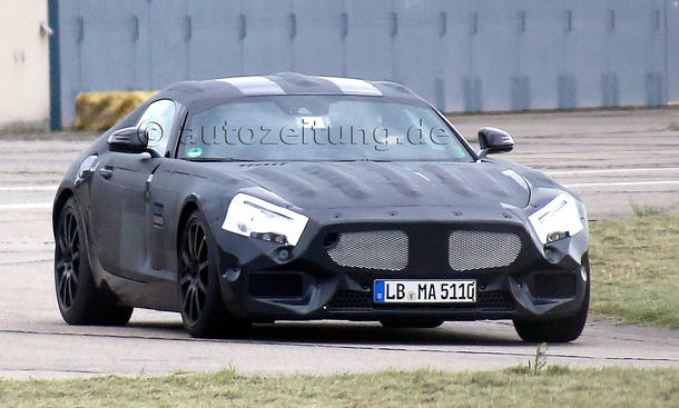 Mercedes SLC 2015 Erlkoenig GT C190 SLS Nachfolger