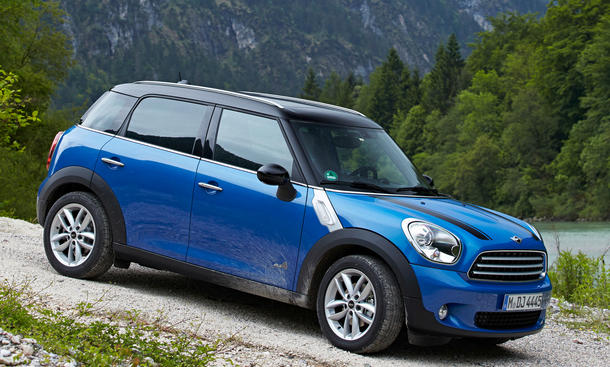 mini cooper countryman und paceman all4 neue allrad. Black Bedroom Furniture Sets. Home Design Ideas