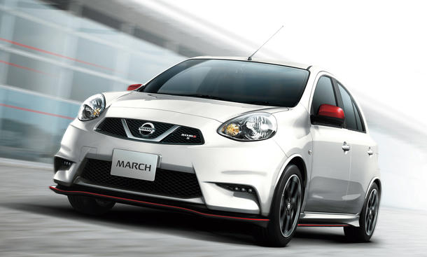Nissan March Nismo S 2013 Bilder Kleinwagen