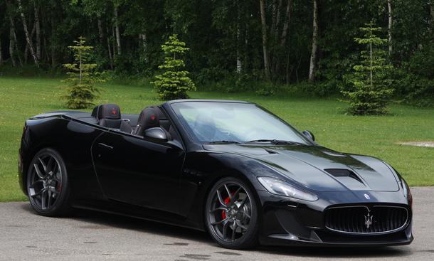 Novitec Tridente Maserati GranCabrio MC Tuning Leistungssteigerung Kompressor V8 Sportwagen