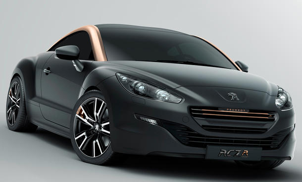 Peugeot RCZ R 2013 Goodwood Festival of Speed 260 PS