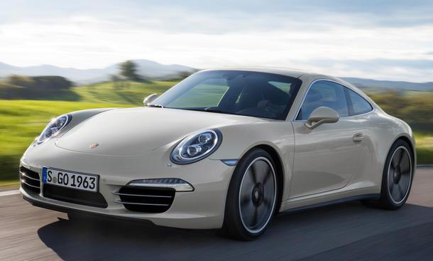 Porsche 911 50 Jahre IAA 2013 Jubilaeum Sondermodell