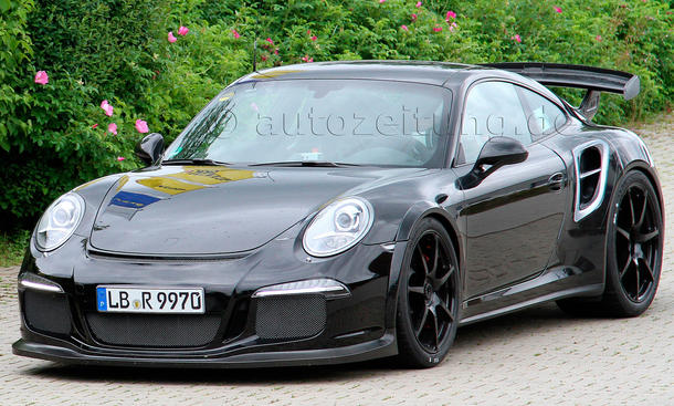 2014 Porsche 911 GT2 991 Erlkoenig Turbo Supersportler
