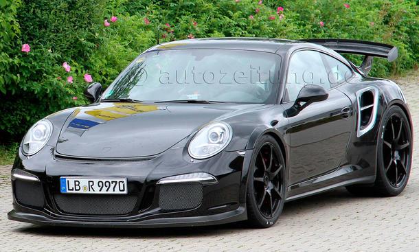2014 Porsche 911 GT2 991 Erlkoenig Turbo Supersportler