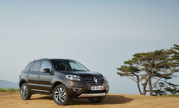 Renault Koleos Facelift 2013 SUV Geländewagen Überarbeitung Infotainment-System
