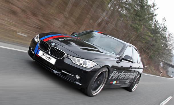 Schmidt Performance BMW 335i F30 2013 Limousine Leistungssteigerung Tuning Bilstein-Fahrwerk