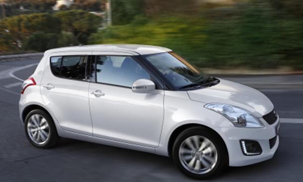 Suzuki Swift 2014 Facelift Bilder Kleinwagen