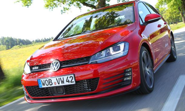 VW Golf VII GTD 2013 Fahrbericht Bilder und technische Daten Diesel-Topmodell