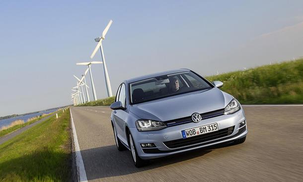VW Golf VII 2013 TDI BlueMotion Diesel Verbrauch Preis