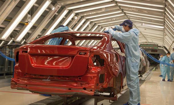 Volvo Geely Übernahme China Werk 2013 Produktion Chengdu Kooperation Zusammenarbeit